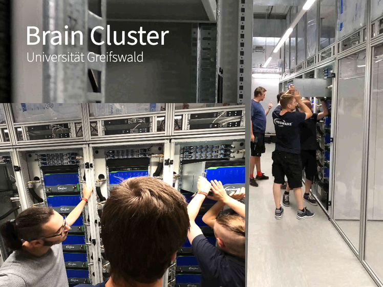 Installation of the HPC Clusters of the University of Greifswald